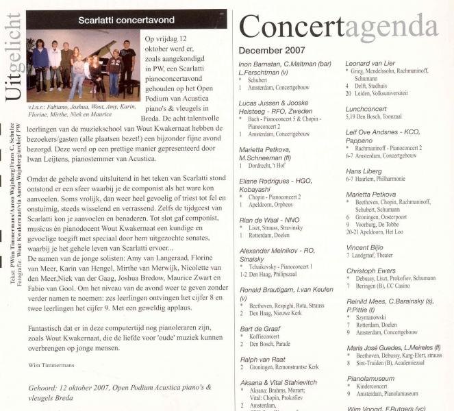 Concert Acustica