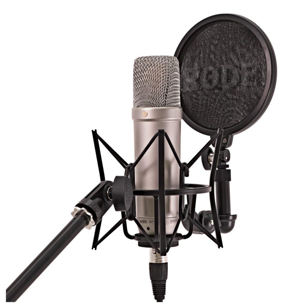 Microfoon opnamestudio Muziekschool Haagse Beemden